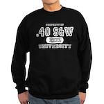 .40 S&W University Sweatshirt (dark)