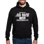 .40 S&W University Hoodie (dark)