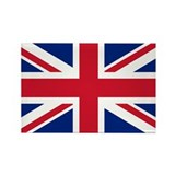 Union Jack Rectangle Magnet (10 pack)