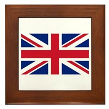 Union Jack Framed Tile
