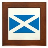 St. Andrew's Cross Framed Tile