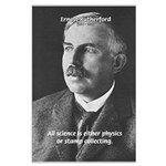 Nuclear Physics: Rutherford Large Poster