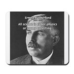 Nuclear Physics: Rutherford Mousepad