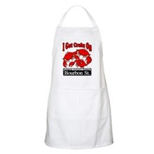 I Got Crabs On Bourbon St. BBQ Apron