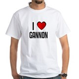 I LOVE GANNON Shirt