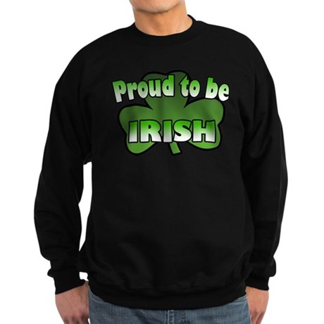 Proud to be Irish Sweatshirt (dark)
