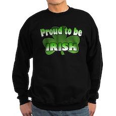 Proud to be Irish Sweatshirt (dark)