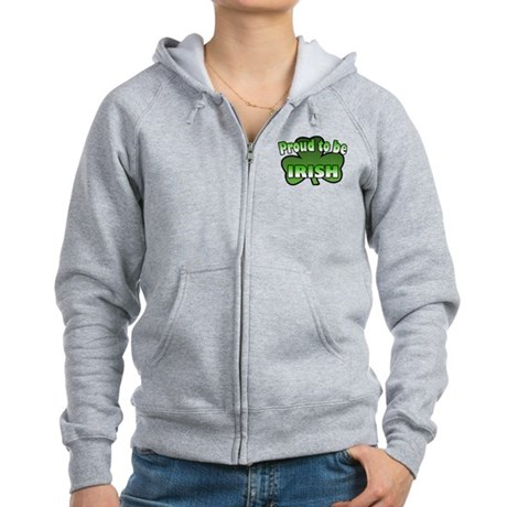 Proud to be Irish Women's Zip Hoodie