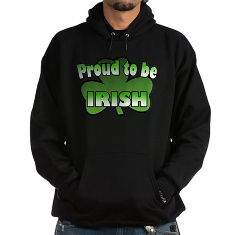 Proud to be Irish Hoodie (dark)