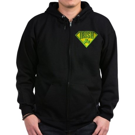 Super Irish Zip Hoodie (dark)