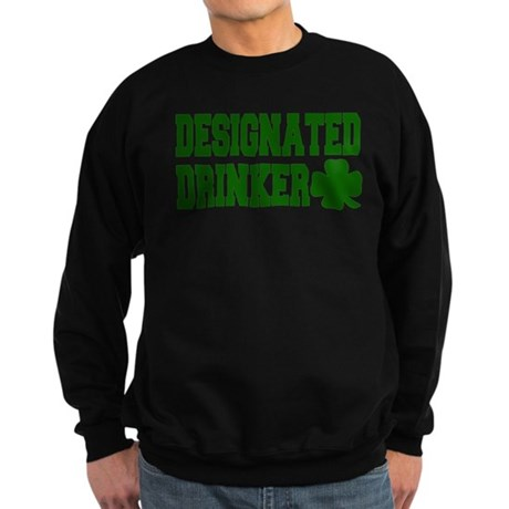 Designated Drinker Sweatshirt (dark)