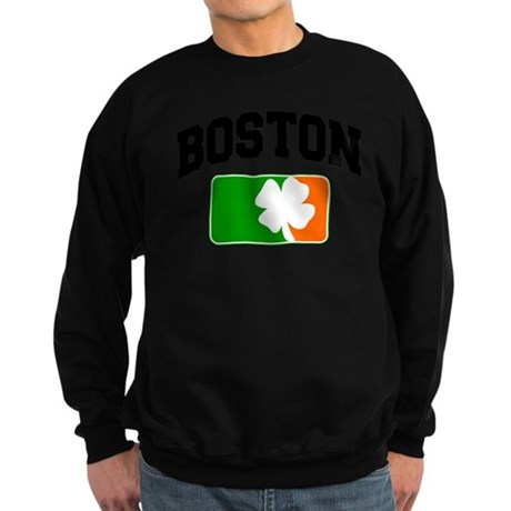 Boston Shamrock Sweatshirt (dark)