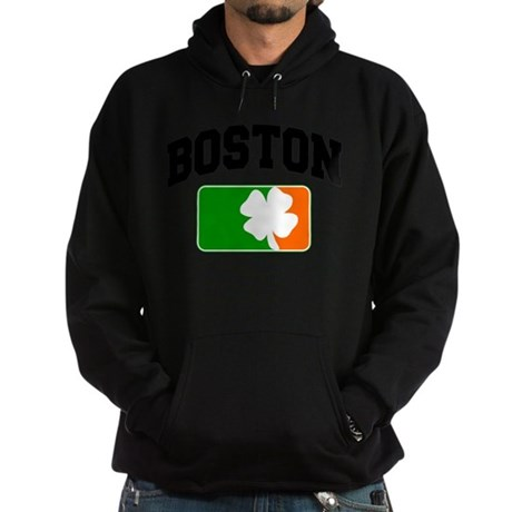 Boston Shamrock Hoodie (dark)