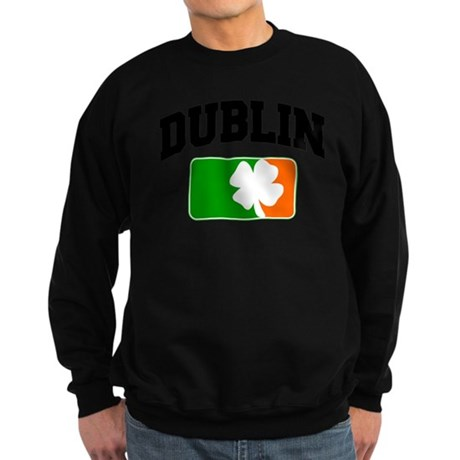 Dublin Shamrock Sweatshirt (dark)