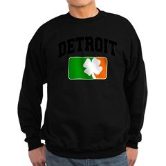 Detroit Shamrock Sweatshirt (dark)