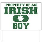 Property of an Irish Boy Yard Sign