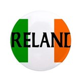 "Ireland Flag 3.5"" Button"