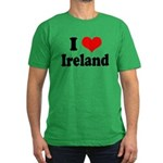 I Heart Ireland Love Men's Fitted T-Shirt (dark)