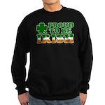 Proud to Be Irish Tricolor Sweatshirt (dark)