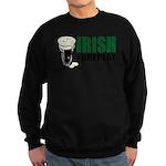 Irish Foreplay Green Sweatshirt (dark)