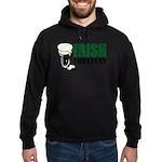 Irish Foreplay Green Hoodie (dark)