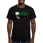 Irish Foreplay Green Men's Fitted T-Shirt (dark)