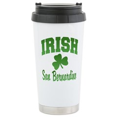 San Benardino Irish Ceramic Travel Mug