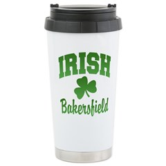 Bakersfield Irish Ceramic Travel Mug