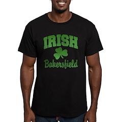Bakersfield Irish Men's Fitted T-Shirt (dark)
