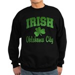 Oklahoma City Irish Sweatshirt (dark)
