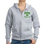 Oklahoma City Irish Women's Zip Hoodie