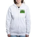 Team Green Women's Zip Hoodie