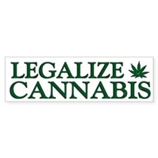 Legalize Cannabis Bumper Sticker