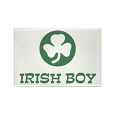 Irish Boy Rectangle Magnet