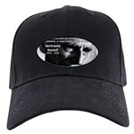 Philosopher Bertrand Russell Black Cap