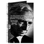 Philosopher Bertrand Russell Journal