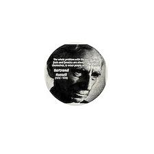 Philosopher Bertrand Russell Mini Button (100 pack