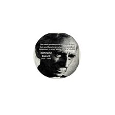 Philosopher Bertrand Russell Mini Button (10 pack)