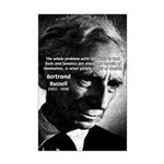 Philosopher Bertrand Russell Mini Poster Print