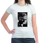 Philosopher Bertrand Russell Jr. Ringer T-Shirt