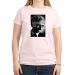 Philosopher Bertrand Russell Women's Pink T-Shirt