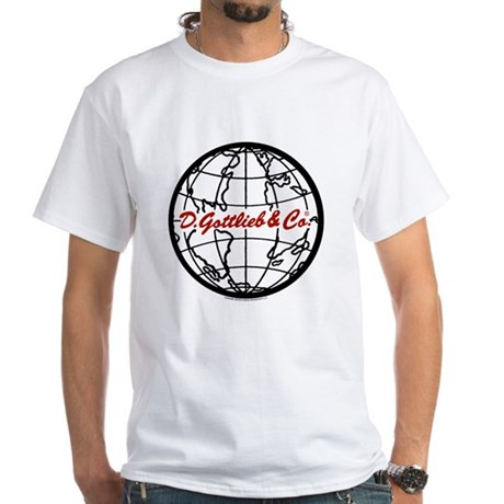 "Gottlieb® ""World"" Logo White T-Shirt"