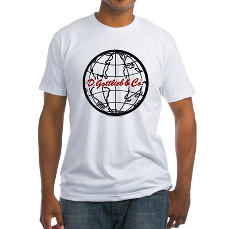 "Gottlieb® ""World"" Logo Fitted T-Shirt"