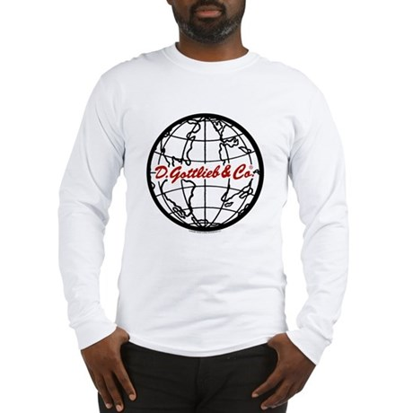 "Gottlieb® ""World"" Logo Long Sleeve T-Shirt"