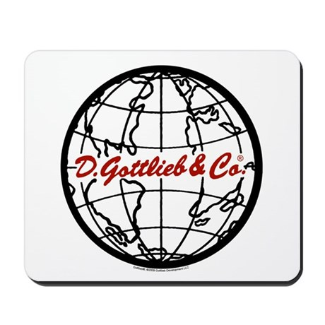 "Gottlieb® ""World"" Logo Mousepad"