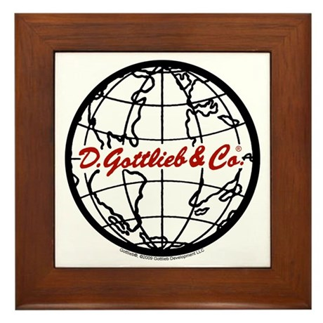 "Gottlieb® ""World"" Logo Framed Tile"