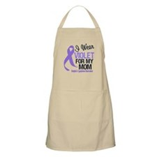 I Wear Violet For My Mom BBQ Apron