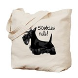Scotties Rule! Tote Bag