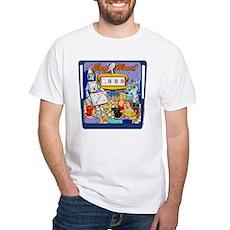 """Gottlieb® """"Egg Head"""" White T-Shirt"""