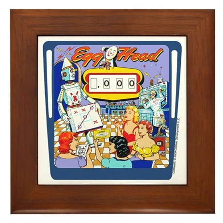"Gottlieb® ""Egg Head"" Framed Tile"